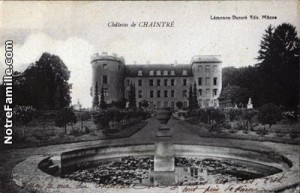 Chateau de Chaintre