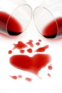Valentijnsdag wijn