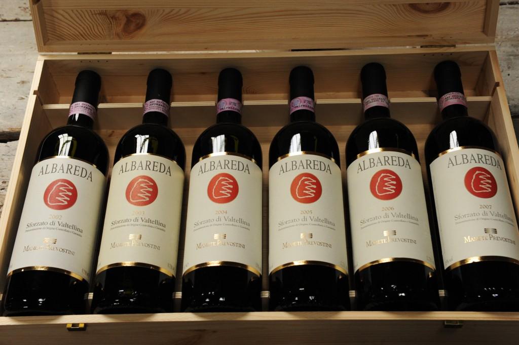 Wijnkistje oude Sforzatos