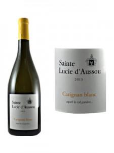 Sainte Lucie Carignan blanc
