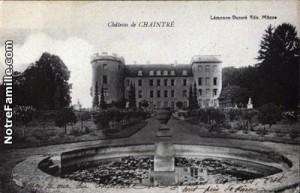 Chateau de Chaintre