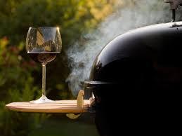 bbq en wijn