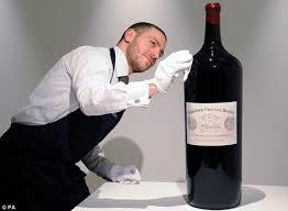 grote fles wijn